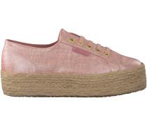 Rosa Superga Plateau Sneaker 2790 LINRBROPEW