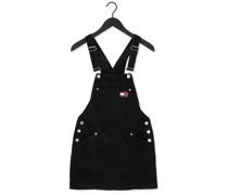 Minikleid Tjw Cord Bungaree Dress Schwarz Damen