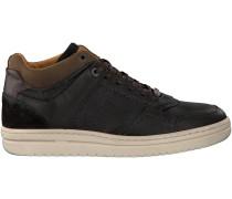 Schwarze Brunotti Sneaker PONZO MID