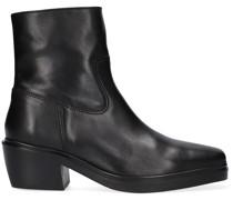 Chelsea Boots Verum Short 1b Schwarz Damen