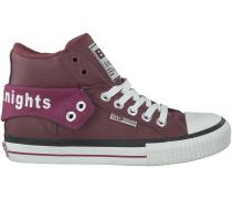 Rote British Knights Sneaker ROCO