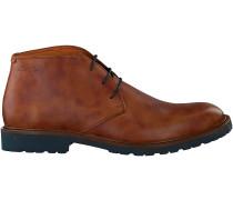 Cognac Van Lier Ankle Boots 5505