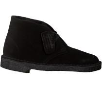 Schwarze Clarks Ankle Boots DESERT BOOT DAMEN
