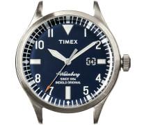 Silberne Timex Uhr (ohne Armband) WATERBURY DATE