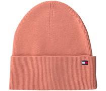 Tommy Hilfiger Mütze Essential Knit Beanie Rosa Damen