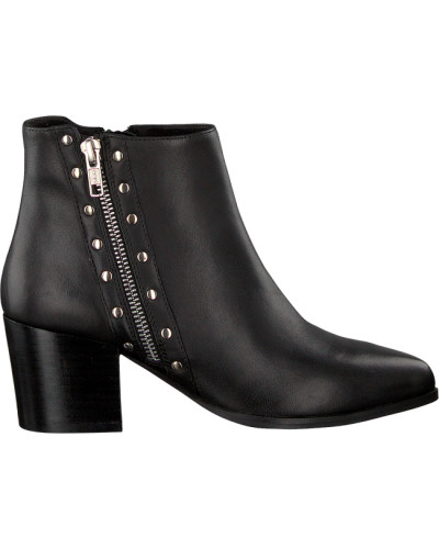 Schwarze Stiefeletten Netty Ankle Boot Stacked