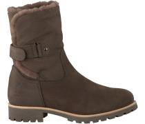 Graue Panama Jack Biker Boots FELIA IGLOO B7