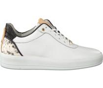 Fred de la Bretoniere Sneaker Low 101010129 Frs0673 Weiß Damen