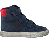 Blaue Vingino Sneaker DUNCAN VELCRO