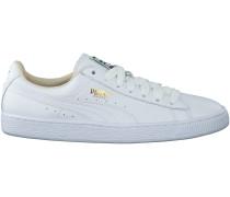 Weisse Puma Sneaker BASKET CLASSIC LFS