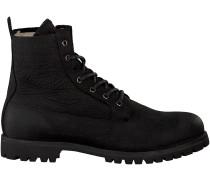 Schwarze Blackstone Ankle Boots OM17