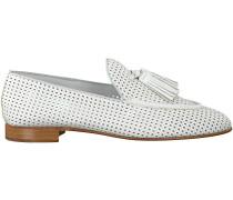 Weiße Pertini Loafer 14940