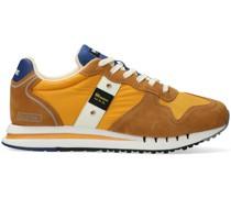 r Sneaker High Man Mesh/nylon/suede Running Gelb Herren