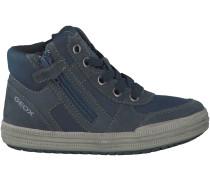 Blaue Geox Sneaker J64A4B