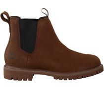 Braune Timberland Chelsea Boots 6 IN PREMIUM CHELSEA