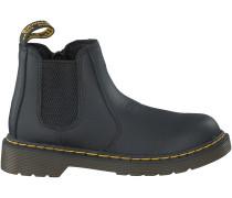 Schwarze Dr. Martens Boots BANZAI CHELSEA KIDS