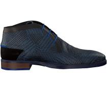 Blaue Floris van Bommel Business Schuhe 10876