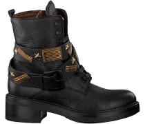 Schwarze Tosca Blu Shoes Biker Boots SF1712S233