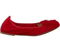 Rote Unisa Ballerinas AYELE