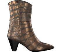 Fred de la Bretoniere Hohe Stiefel 183010160 Bronze Damen