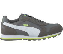Graue Puma Sneaker ST.RUNNER JR