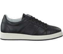 Schwarze Nubikk Sneaker NOAH LACE STUDS