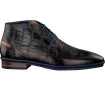 Schwarze Floris van Bommel Business Schuhe 10754