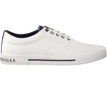 Weiße Tommy Hilfiger Sneaker HERITAGE TEXTILE SNEAKER