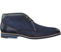 Blaue Braend Business Schuhe 24508