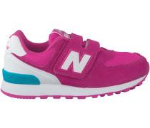 Rosa New Balance Sneaker KV574