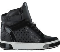 Schwarze Michael Kors Sneaker PIA HIGH TOP