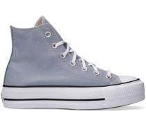 Converse Sneaker High Chuck Taylor All Star Lift Hi Blau Damen