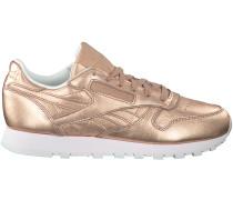 Rosa Reebok Sneaker CL LEATHER DAMEN