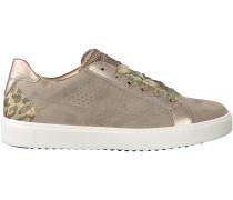 Beige Maripé Sneaker 26372