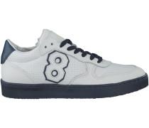 Weisse Hip Sneaker H1416