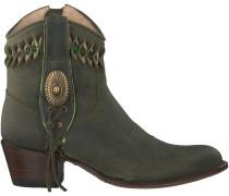 Grüne Sendra Cowboystiefel 13387