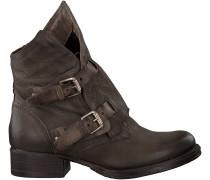 Braune Mjus Biker Boots 185651