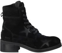 Schwarze Nubikk Kurzstiefel DALIDA STARS