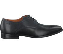 Schwarze Van Lier Business Schuhe 6000