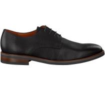 Schwarze Van Lier Business Schuhe 5380
