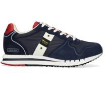 r Sneaker High Man Mesh/nylon/suede Running Blau Herren
