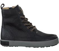 Blaue Blackstone Ankle Boots CK01