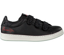 Schwarze Hip Sneaker H1679
