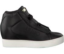 Schwarze Liu Jo Wedge Sneaker S67225