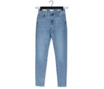 Skinny Jeans Slfsophia Mw Skinny Mid J Blau Damen