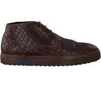 Braune Floris van Bommel Sneaker 10941