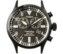 Schwarze Timex Uhr (ohne Armband) WATERBURY CHRONO