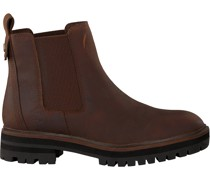 Timberland Chelsea Boots London Square Double Gore Braun Damen