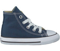 Blaue Converse Sneaker CHUCK TAYLOR ALL STAR HI KIDS