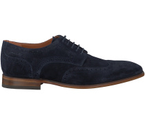 Blaue Van Lier Business Schuhe 4036